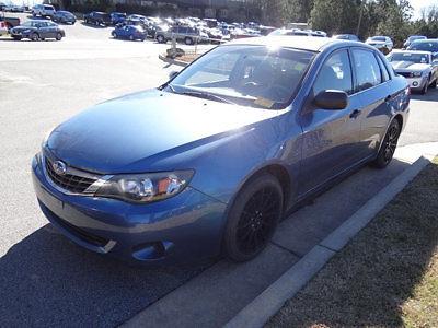 Subaru : Impreza 2.5i 2.5 i low miles 4 dr sedan automatic gasoline unspecified newport blue pearl