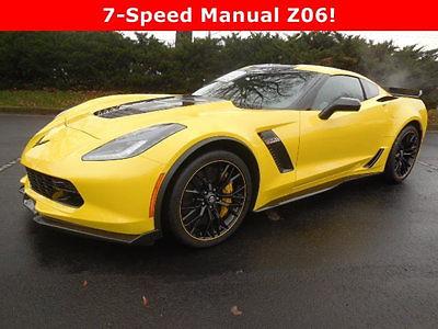 Chevrolet : Corvette 2dr Z06 Coupe w/3LZ Chevrolet Corvette 2dr Z06 Coupe w/3LZ New Manual Gasoline 6.2L 8 Cyl  Corvette