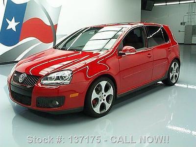 Volkswagen : Golf AUTO SUNROOF HEATED SEATS 18'S 2009 volkswagen gti auto sunroof heated seats 18 s 56 k 137175 texas direct auto