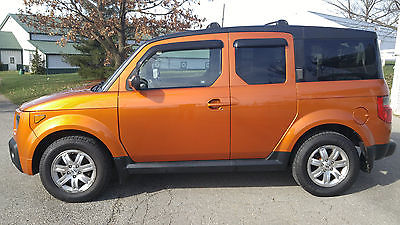 Honda : Element orange 2007 honda element ex sport utility orange 4 wd automatic 4 cylinder
