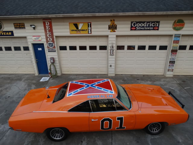 Dodge : Charger GENERAL LEE 440 engine texas car documented real orange car