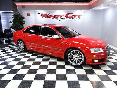 Audi : S8 4dr Sedan 2007 audi s 8 d 3 quattro sedan v 10 carbon fiber pkg only known red s 8 in the us