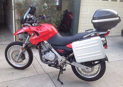 BMW : Other 2001 bmw f 650 gs dual sport like new only 1750 miles full touring equipment