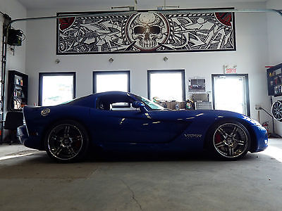 Dodge : Viper SRT-10 Coupe 2-Door 2006 twin turbo dodge viper 1175 whp