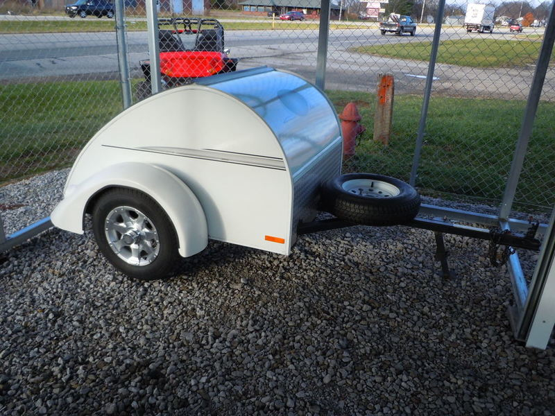 2007 The Little Trailer Company LITTLE GUY CLASSIC MOTORCYCLE TRAILER