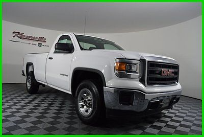 GMC : Sierra 1500 W/T RWD 4.3L V-6 Cyl USED Pick-up Truck - Long Bed USED 20K Miles 2014 GMC Sierra 1500 W/T Regular Cab Cloth Seats Long Bed