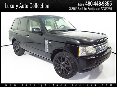 Land Rover : Range Rover 4WD 4dr SC 2007 range rover hse supercharged 106 k miles heated seats rear camera parkin 08