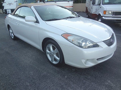 Toyota : Solara 2dr Convertible SE V6 Automatic 2004 stunning solara se convertible 71057 miles 1 owner 1 of the nicest aound