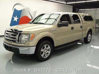 Ford : F-150 XLT CREW REAR CAM CAMPER SHELL TOW 2010 ford f 150 xlt crew rear cam camper shell tow 57 k b 45770 texas direct auto