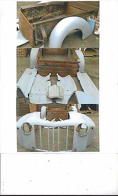 Ford : Other Pickups 1/2 Ton Pickup 1945 ford 1 2 ton pickup rolling chassis original parts model 59 v 8