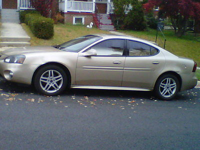 Pontiac : Grand Prix GTP Sedan 4-Door Pontiac Grand 2005 Gold, Grand Prix GTP. 117,000 miles +. 4 new tires, new front