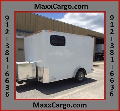 2015 7X10 CARGO TRAILER -MOBILE BUSINESS/OFFICE