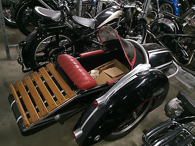 Other Makes : KS500 ZUNDAPP 1940 KS500 WITH SIDE CAR
