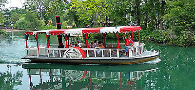 Cedar Point PADDLEWHEEL BOAT 34 ft Seark - Amusement Park Passenger Ride