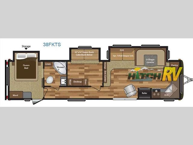 2008 Keystone Rv Passport 280BH