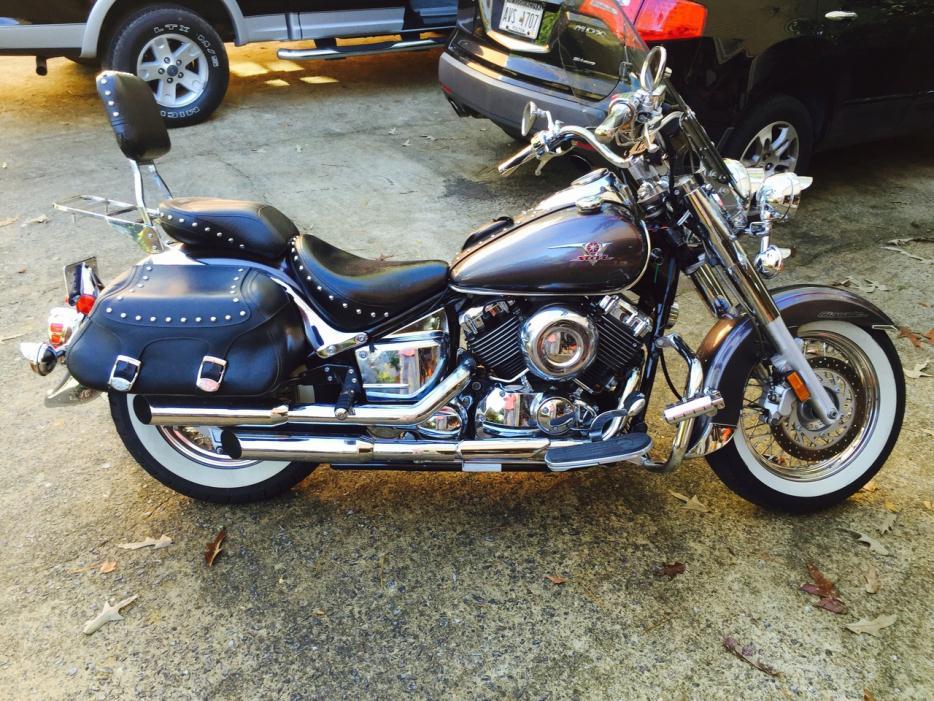 yamaha v star motorcycles for sale in atlanta georgia. Black Bedroom Furniture Sets. Home Design Ideas