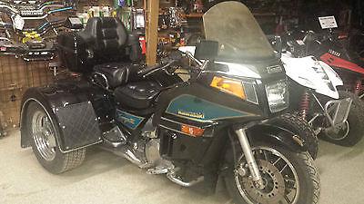 Kawasaki : Other 1993 kawasaki voyager xii trike motorcycle 1200 cc runs great