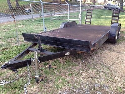 Heavy Duty All-Steel Car Hauler Equipment Trailer 18 foot