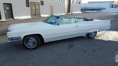 Cadillac : DeVille Boss Hogg 1969 cadillac de ville convertible