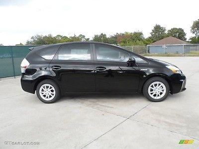 Toyota : Prius V Upholstery 2012 prius v black