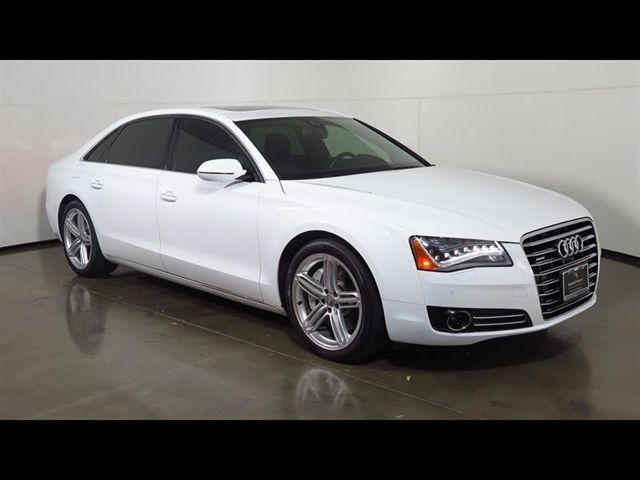 Audi : A8 4dr Sdn 4.0L 2013 audi a 8 l 4.0 t v 8