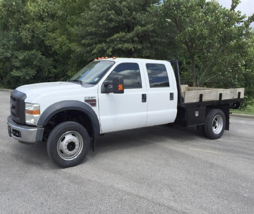 2008 Ford F550 Crew
