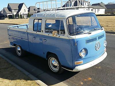 Volkswagen : Bus/Vanagon 1968 volkswagen double cab type 26 16 crew extended bay window
