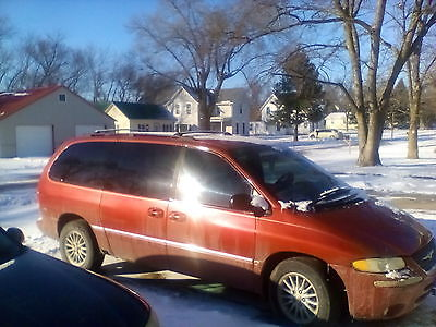 Chrysler : Town & Country LX Mini Passenger Van 4-Door 1999 chrysler town and country lx 186 000 salvage title
