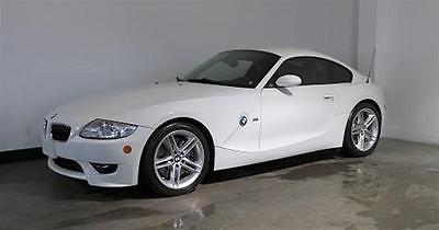 BMW : M Roadster & Coupe Z4 M BMW Z4 M Coupe with Premium Package. Alpine White on Imola Red Nappa Leather.