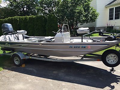 2014 G3 1860 CCJ Deluxe with Tunnel Hull. 90/65 HP Yamaha 4 Stroke Outboard Jet