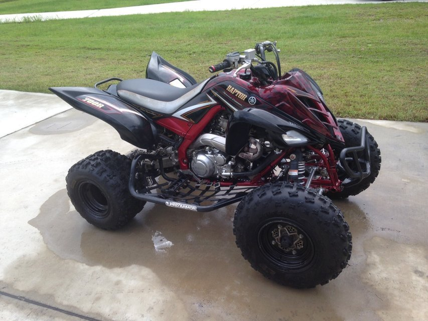 750 Raptor Atv Motorcycles For Sale