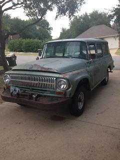 International Harvester : Other 1100a 1966 international travelall 1100 4 x 4 4 speed ps pb pto winch 86 k original miles