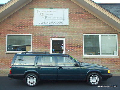 Volvo : 940 Wagon Only 104K One Owner Rust Free Survivor Clean Carfax JUST Fully Serviced 40 Pics