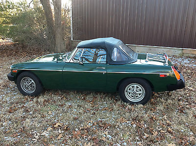 MG : MGB Green MGB 1980