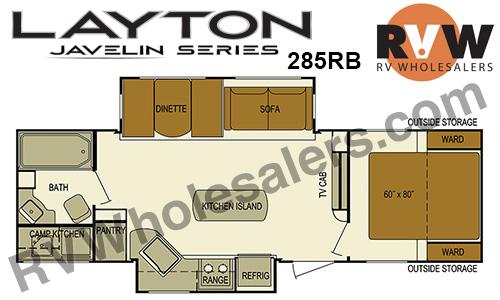 2016 Skyline Layton Javelin 285RB