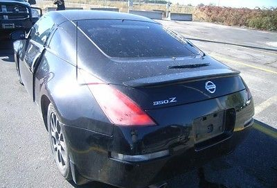 Nissan : 350Z ENTHUSIAST 350ZX 2004 nissan 350 zx enthusiast edition for sale cheap damaged right front salvage