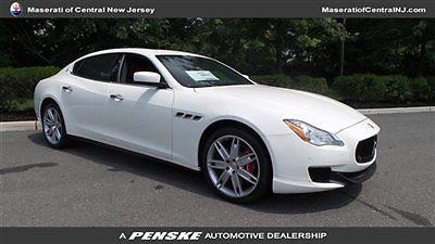 Maserati : Quattroporte 4dr Sedan S Q4 4 dr sedan s q 4 new automatic gasoline 3.0 l v 6 cyl bianco