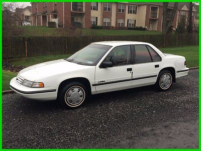Chevrolet : Lumina 1994 chevrolet lumina only 22 k orig miles auto air mint time capsule cond