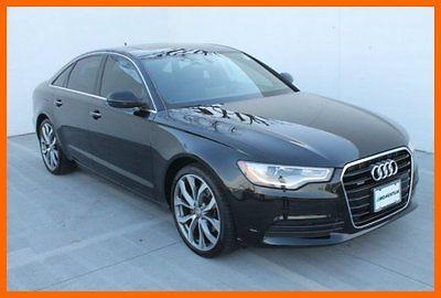 Audi : A6 2.0T Premium Plus Quattro 2013 audi a 6 quattro sedan 33 k miles 1 owner bose clean carfax we finance