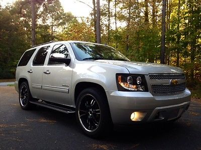 Chevrolet : Tahoe CUSTOM LOWERED LT 2011 chevrolet tahoe 4 x 4 lt head turner