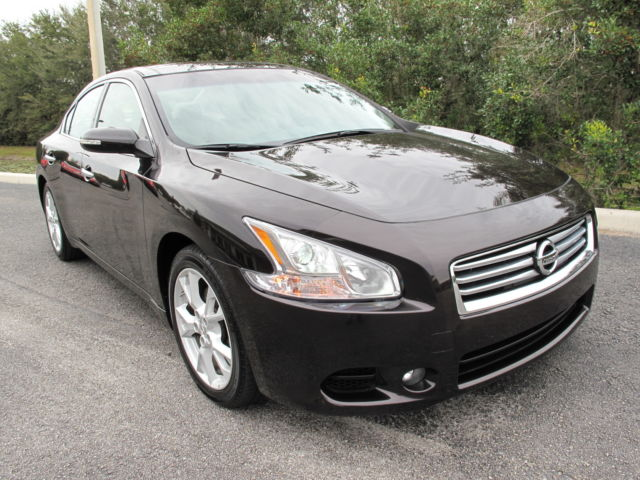 Nissan : Maxima 4dr Sdn V6 C 2012 nissan maxima sv only 18 500 miles