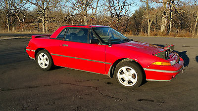Mercury : Capri XR2 Turbo Mercury Capri XR2 Turbo Convertible with Hard Top
