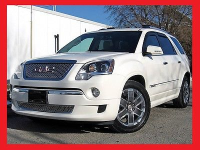 GMC : Acadia DENALI 2012 gmc acadia denali loaded 1 owner only 44 000 miles