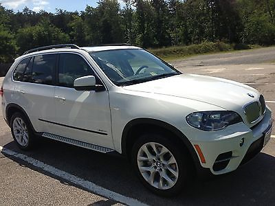 BMW : X5 xDrive 35i Premium White with Beige Interior, Low Miles, Under Warranty