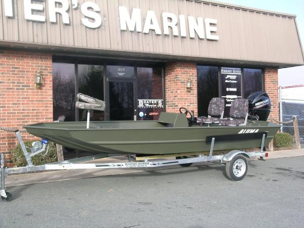 2015 Alumacraft MV 1648