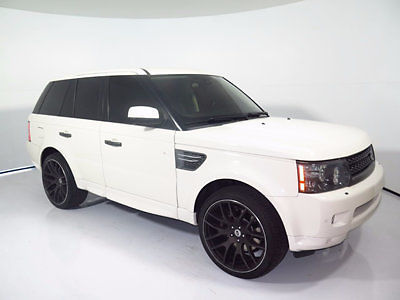 Land Rover : Range Rover Sport 4WD 4dr HSE LUX 2010 range rover sport hse lux navi rear entertainment rear camera 11 12 09 s c