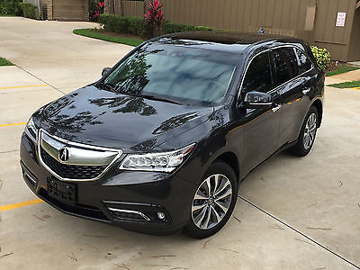 Acura : MDX AWD w/TECHNOLOGY PACKAGE 2015 acura mdx sh awd w technology package only 11 k miles