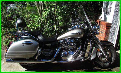 Kawasaki : Vulcan 2006 kawasaki vulcan 1600 nomad in dark green silver located in tampa fl
