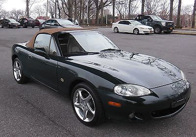 Mazda : MX-5 Miata 2001 mazda miata mx 5 nardi torino special edition 6 speed leather must see