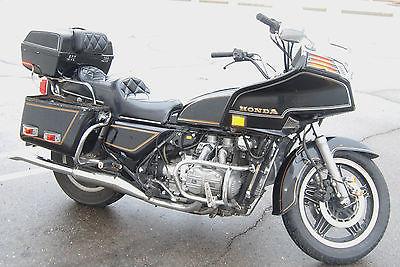 Honda : Gold Wing 1982 honda goldwing gl 1100 touring motorcycle 60 449 miles clear title bike